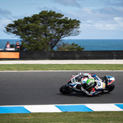 Eugene sets to work at Phillip Island