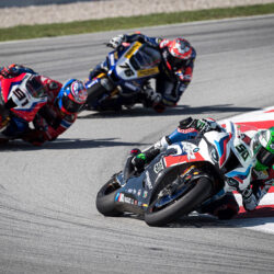 Eleventh and seventh places for Eugene on Sunday at #CatalanWorldSBK
