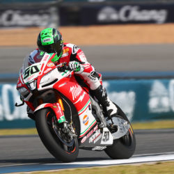 Technical DNF for Eugene in Race 1 in Thailand