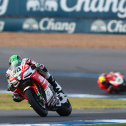 Eugene takes 15th in Race 2 in Thailand