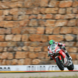 Eugene Laverty through to Superpole 2 at Aragon with P9 on Friday
