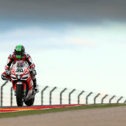 Eugene takes eighth place in Aragon race 1