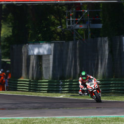 Steady start at Imola for Eugene Laverty