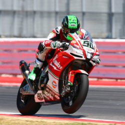 Eugene takes sixth in Misano race 1