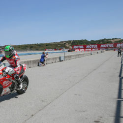 Eugene takes positive P6 in Laguna Seca Race 2