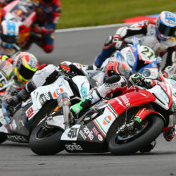 Retirement in Race 2 at the Lausitzring for Eugene Laverty