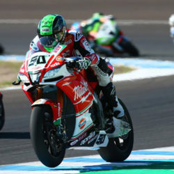 Eugene takes eighth place in Jerez race 1