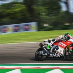 Eugene impresses with strong comeback from injury at Imola