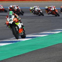Crash for Eugene in Thai race 1