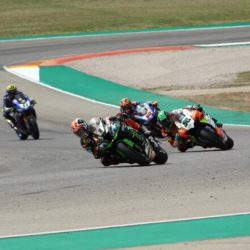 So close yet so far for Eugene in Aragon race 1