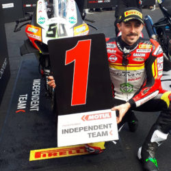 Eugene finishes as first independent rider in both Aragon's Sunday races